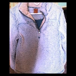 Scully Light Blue women's pullover